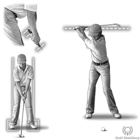 Grip the club a little lower on the grip, normal stance and normal swing for a full pitch shot