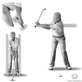 Grip the club a little lower on the grip, narrower stance and shorter swing for a three quarter pitch shot