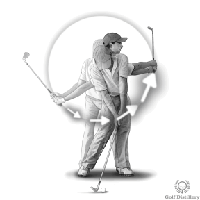 Be sure to accelerate when you hit pitch shots