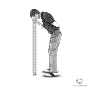 Putting Posture - Eyes should be directly over the ball