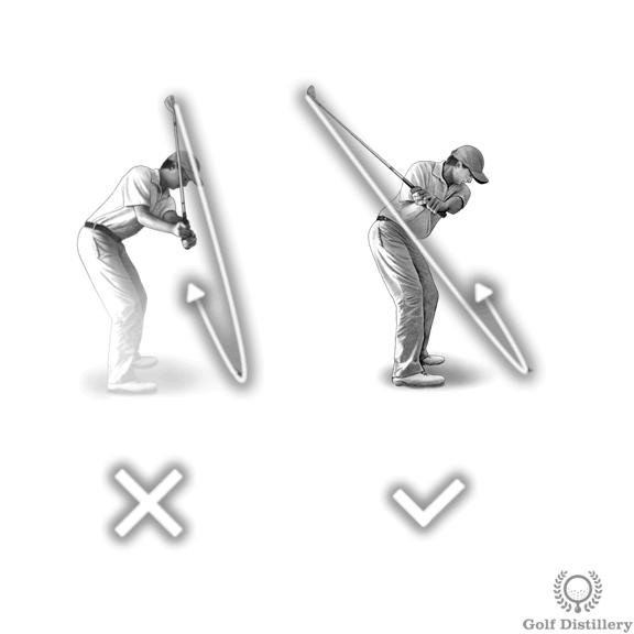 Golf Shank Fix #1 - Stop Over the Top Swing Error