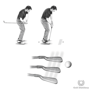 Shank Drill - Swing but try to miss hitting the ball, coming in inside instead