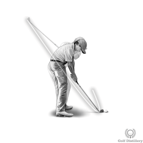 Shank Drill - Swing normally and make sure you do not also hit the second ball placed outside of your swing path