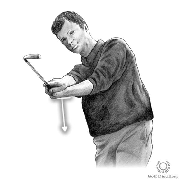 Slice Drill - Golf Glove Drill