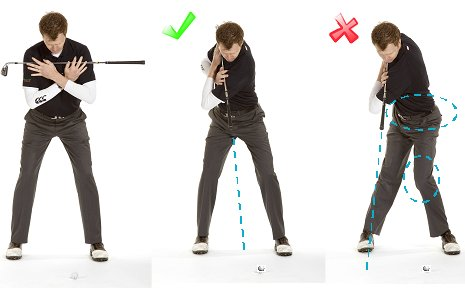 Top Of Golf Swing Drill 1 Free Online Golf Tips