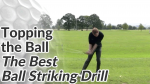 Video Preview of Ball Striking Drill to Stop Topping the Golf Ball