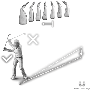 When it's windy use more club and use a three quarter swing to keep the ball lower